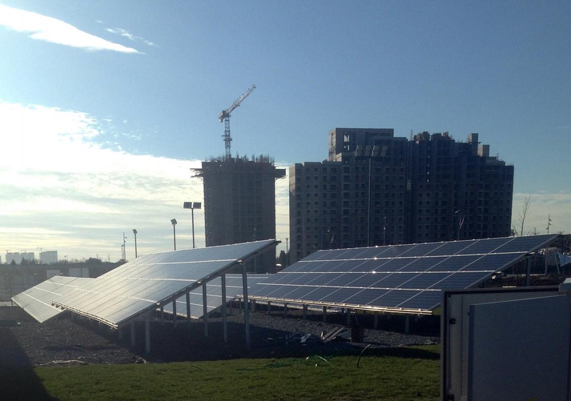 İstanbul Hayatpark Arazi Uygulamalı GES Projesi